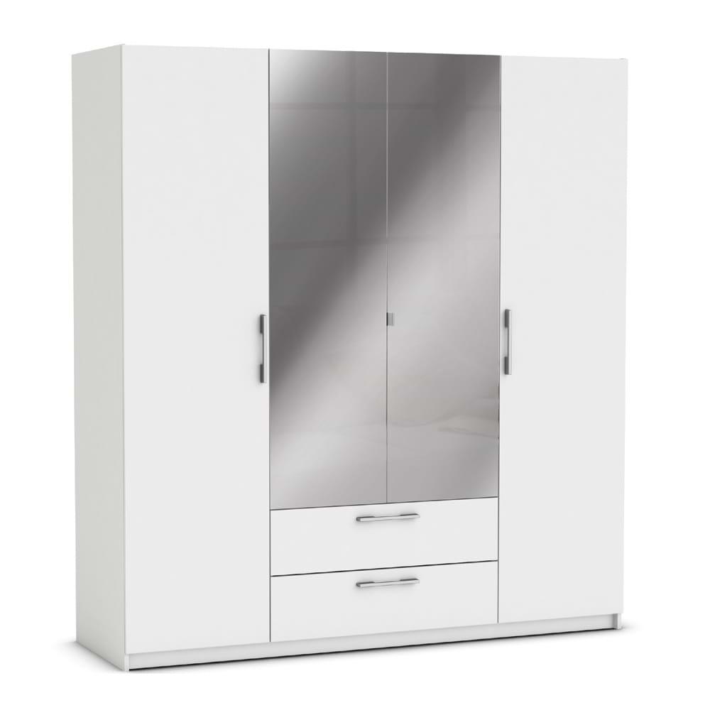 ארון ענק 4 דלתות עם מגירות ומראה jupiter-v-1000