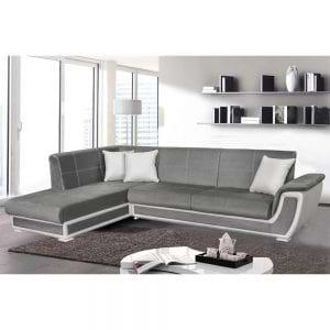 מערכת ישיבה פינתית נפתחת למיטה זוגית עם ארגזי מצעים דגם קליפורניה