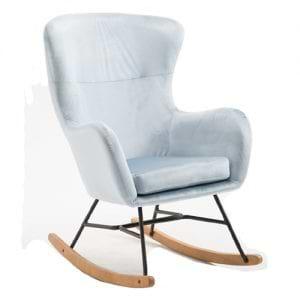 כורסא מעוצבת עם רגלי נדנדה דגם עדי