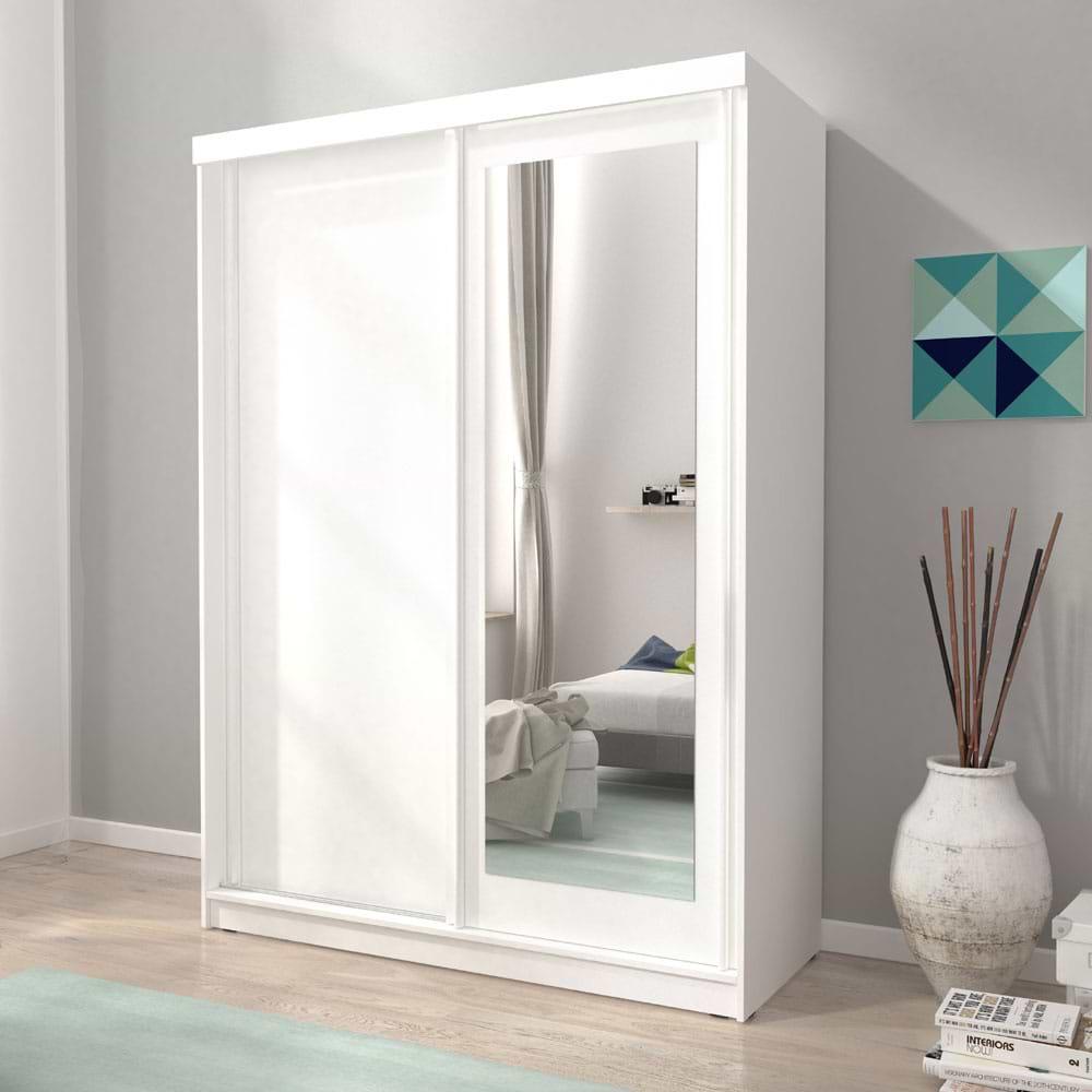 ארון הזזה עם דלת מראה alaska-1000