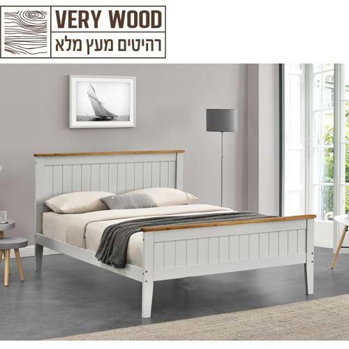 מיטה זוגית מעץ ashly 500 1