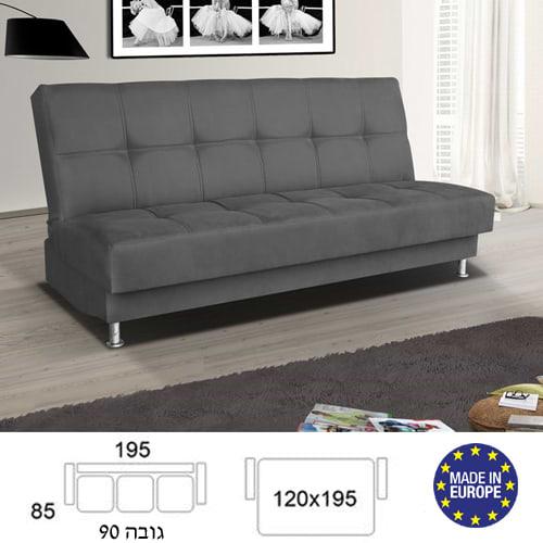 ספה מעוצבת נפתחת למיטה זוגית en-500a