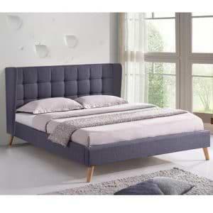 מיטה זוגית 160×200 מרופדת בד דגם גלעד
