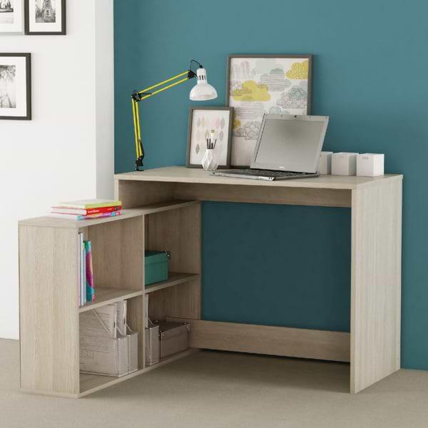 שולחן כתיבה עם מגירות מעץ keren-500a