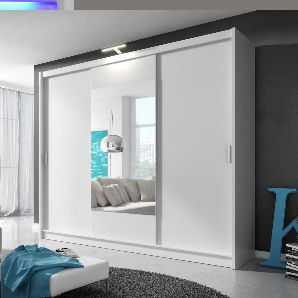 ארון הזזה עם דלת מראה linda-1000
