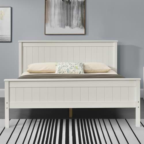 מיטה זוגית מעץ מלא linor160 500b