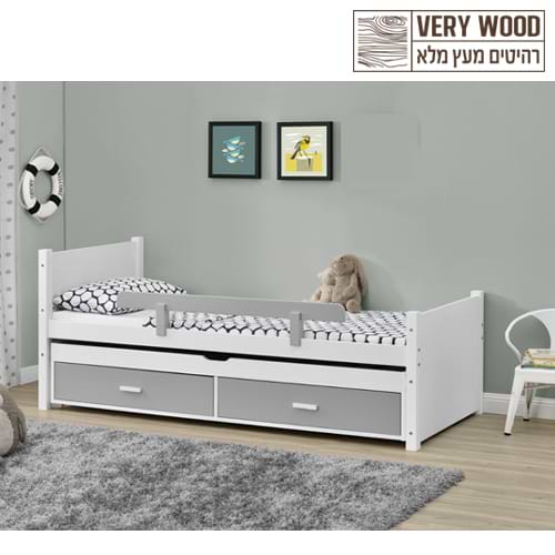 מיטת ילדים מעץ lior 500d