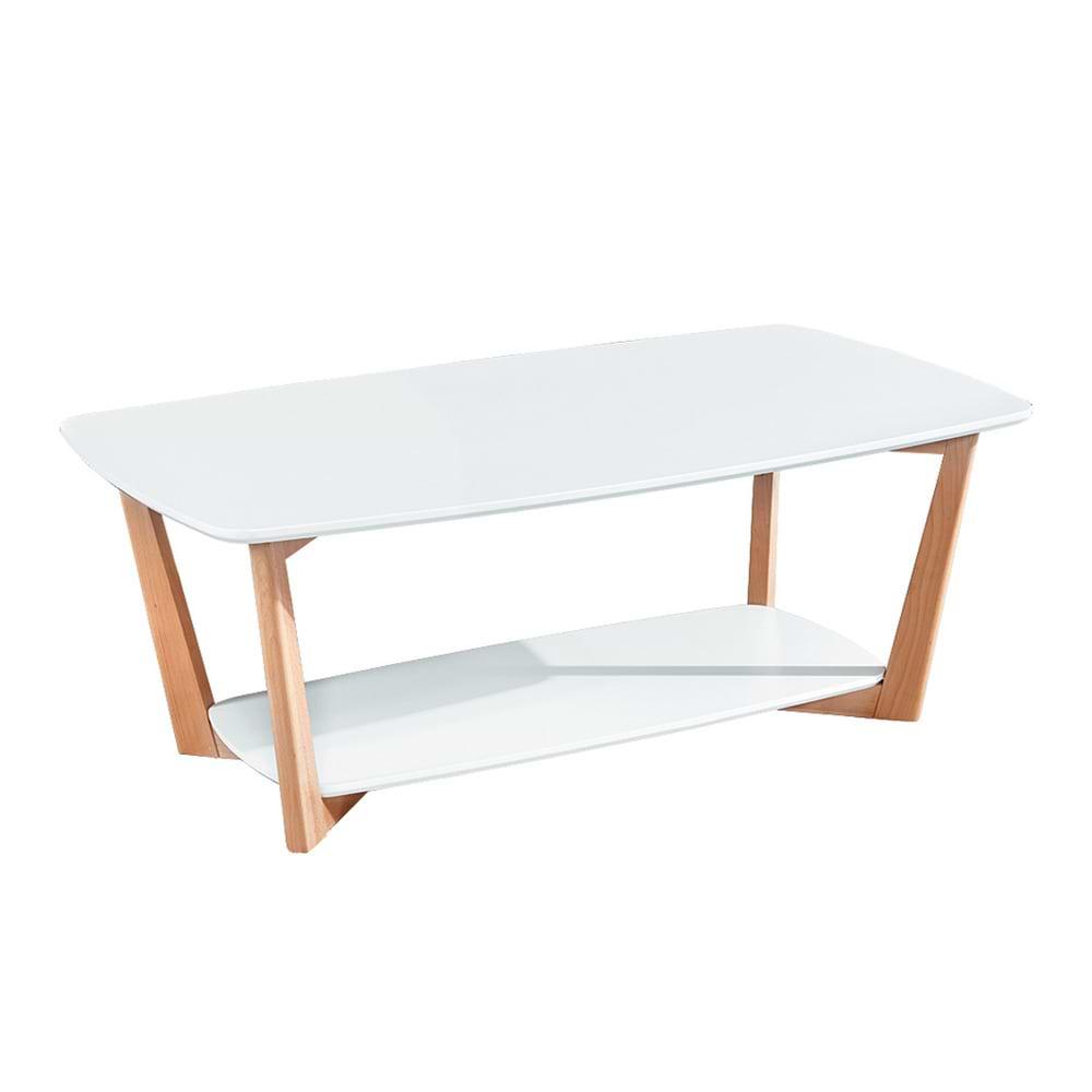 שולחן לבן לסלון maoz-1000