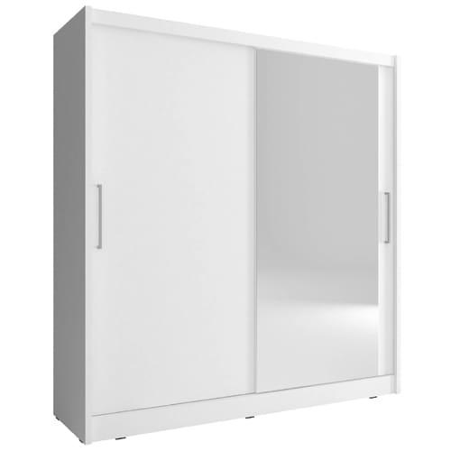 ארון הזזה עם דלת מראה meril-500a