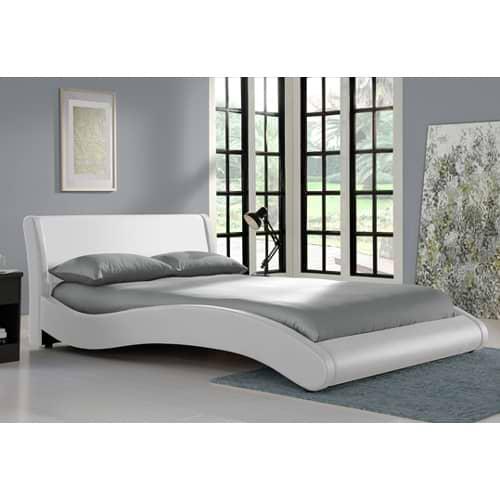 מיטה זוגית בעיצוב מעוגל metro-500a
