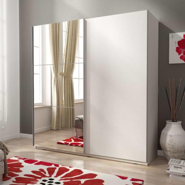 ארון הזזה עם דלת מראה miki-1000