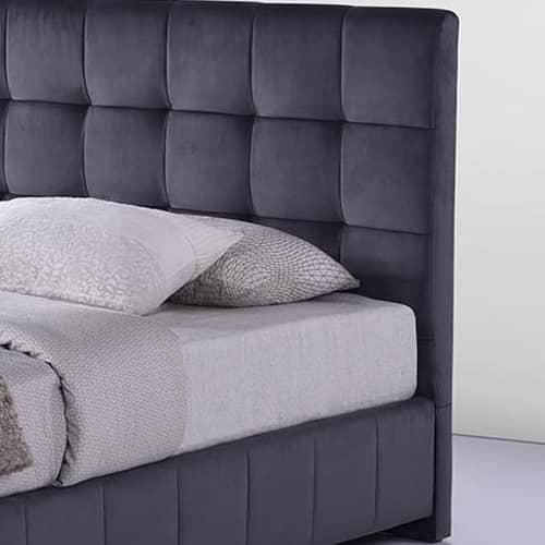 מיטה זוגית בד קטיפתי petsy-500b