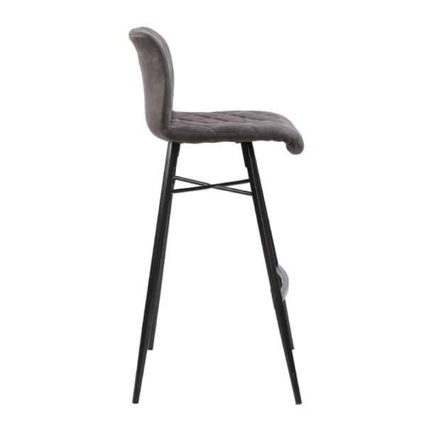 זוג כסאות בר עם רגלי מתכת דגם רענן