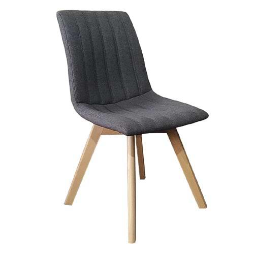 זוג כיסאות לפינת אוכל רגלי עץ roi-500a