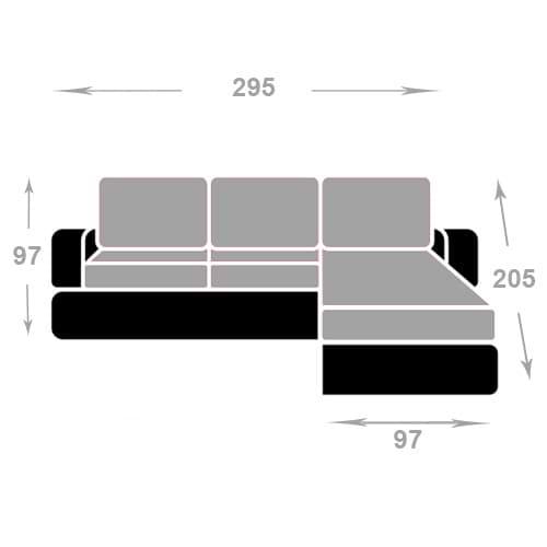 מערכת ישיבה פינתית roma-500-4