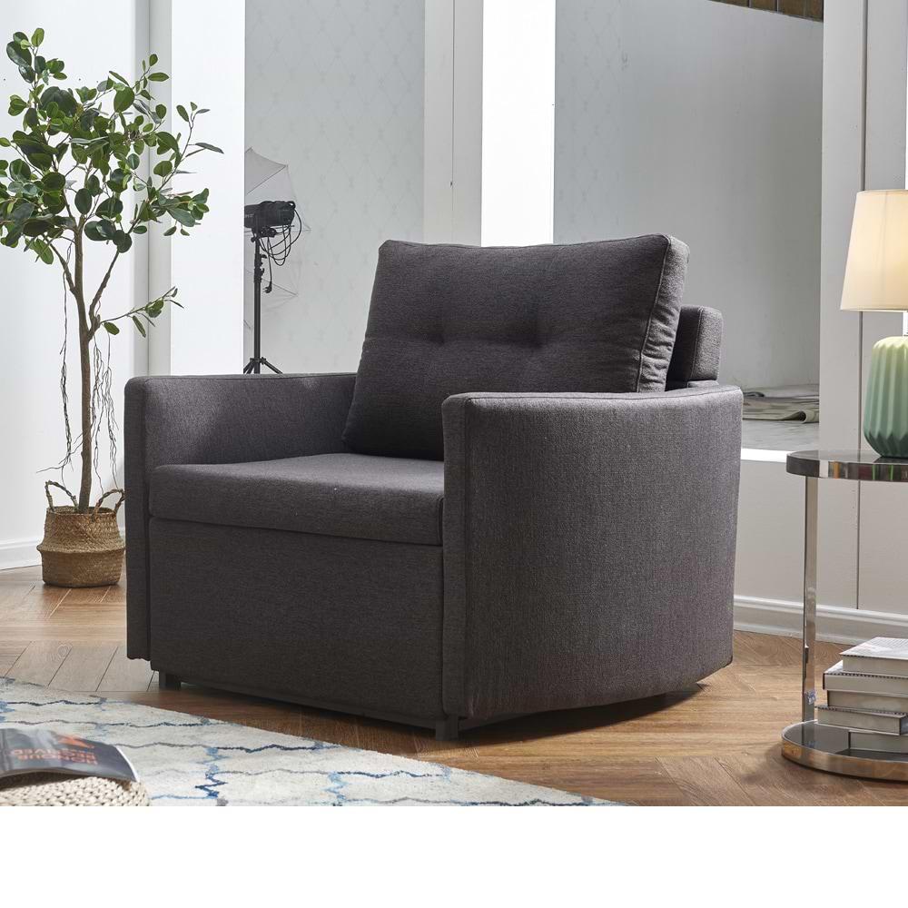 כורסא מעוצבת נפתחת למיטה sagi-1000