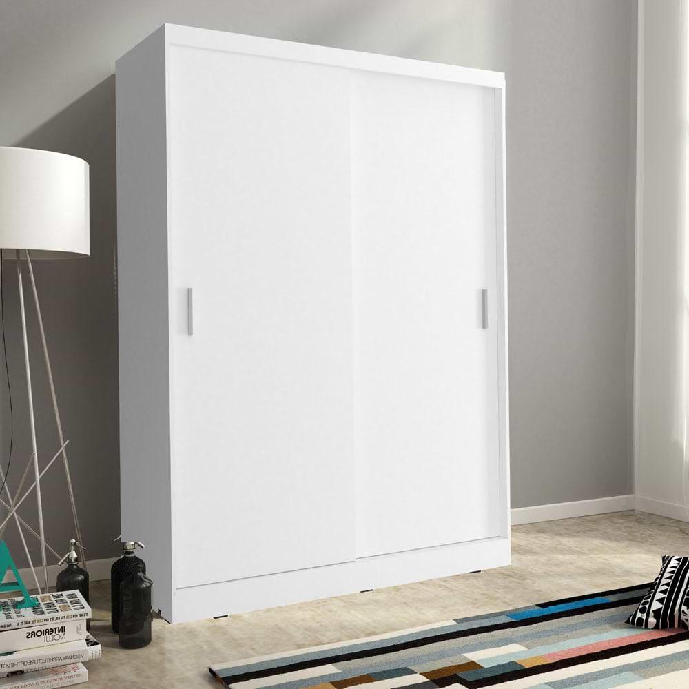 ארון הזזה לבן viki-1000