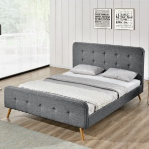מיטה מרופדת רחבה לנוער 120×190 בעיצוב צעיר  HOME DECOR דגם ענת