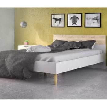 מיטה זוגית מעוצבת 160×200 תוצרת דנמרק דגם דלתא