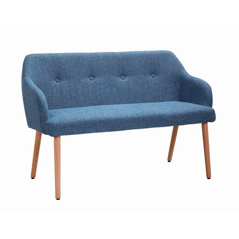 ספה מרופדת עם רגלי עץ lavi-1200