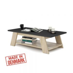 שולחן סלון עם מדף תחתון דגם מונדאו