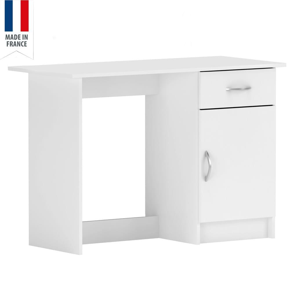 שולחן כתיבה לבן iris-1000