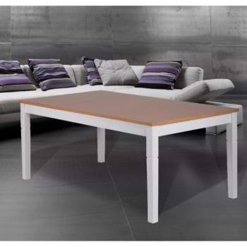שולחן אוכל 1.8-2.4 מ' מעץ מלא משולב דגם פראג