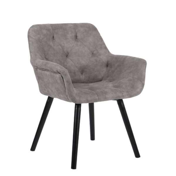 כורסא מעוצבת עם רגלי עץ מלא HOME DECOR דגם ממפיס