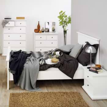 מיטה זוגית מעץ 160×200 תוצרת דנמרק דגם אלונית