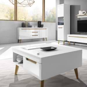 שולחן סלון בגימור מודרני תוצרת אירופה דגם ליאת