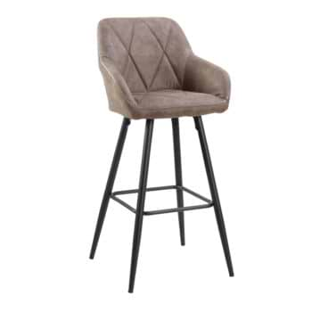 כיסא בר עם רגלי מתכת דגם טקסס – משלוח חינם!