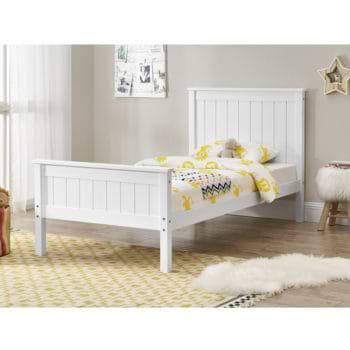 מיטת יחיד עשויה עץ מלא מסדרת VERY WOOD דגם עדן
