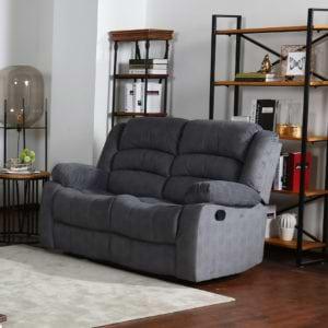 ספה דו מושבית מבד עם 2 הדומים נשלפים דגם פירנצה
