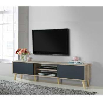 מזנון טלוויזיה מעוצב ברוחב 180 סמ דגם מנילה