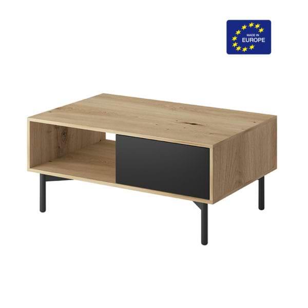 שולחן מעוצב בגימור מודרני תוצרת אירופה דגם איילת