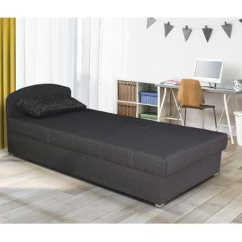 מיטת יחיד עם ראש מתכוונן וארגז מצעים דגם מישל