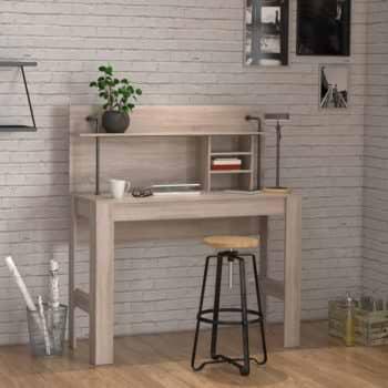 שולחן כתיבה עם מדפים ותאי אחסון תוצרת דנמרק דגם מקס
