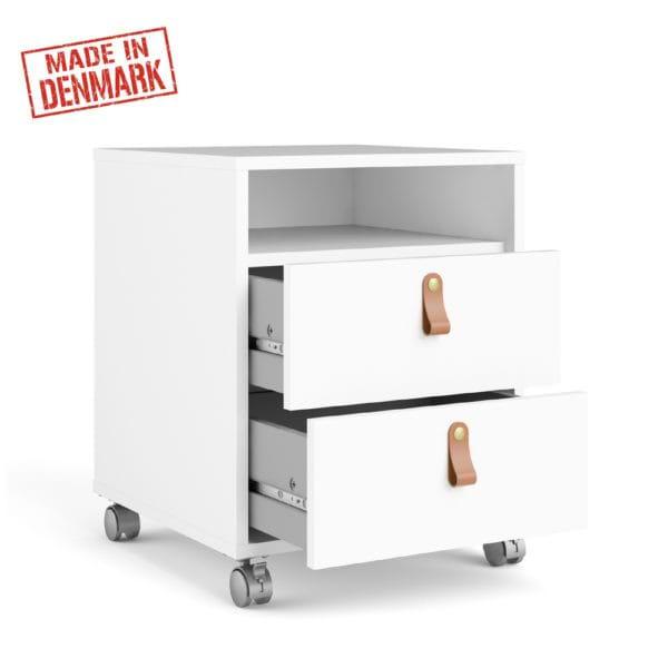 שידת מגירות למשרד עם גלגלים תוצרת דנמרק דגם מלודי