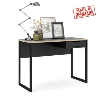 שולחן כתיבה עם מגירה ורגלי ברזל תוצרת דנמרק דגם קולין