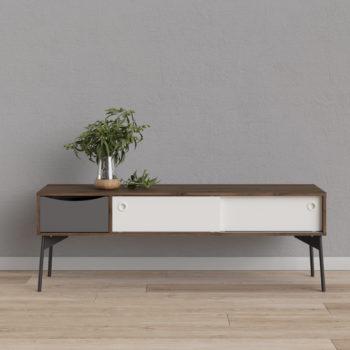 מזנון 1.5 מ' בעיצוב רטרו סקנדינבי תוצרת דנמרק דגם דוריאן-אלון