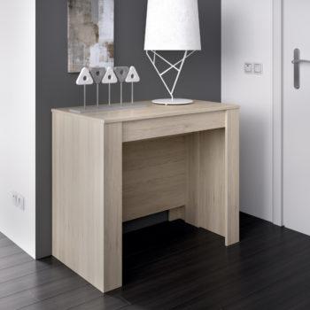 שולחן אוכל קונסולה נפתחת עם אחסון תוצרת ספרד HOME DECOR דגם קיאנו-אלון