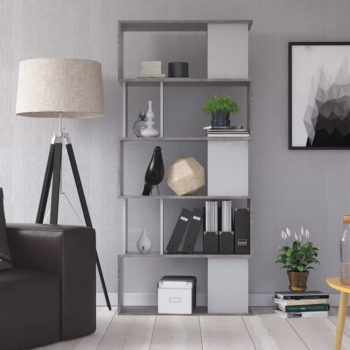 כוורת מעוצבת תוצרת דנמרק דגם אפולו לבן-בטון